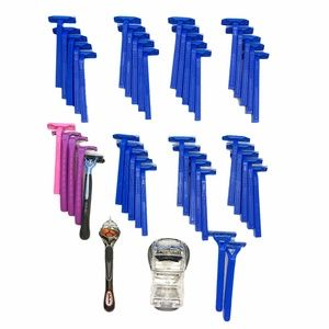 🚹 43 DISPOSABLE RAZORS BUNDLE LOT PROGLIDE